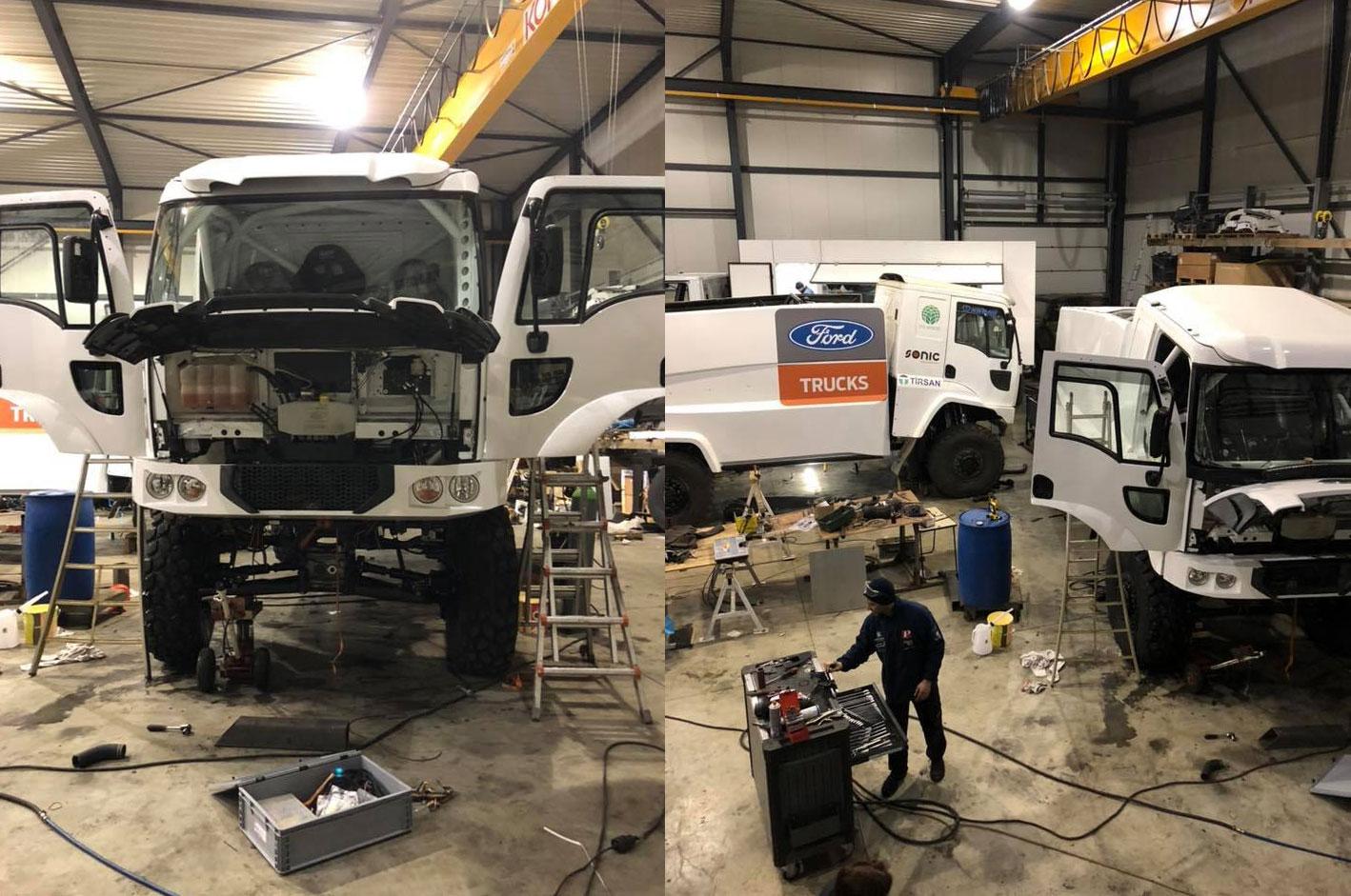 construccion ford cargo