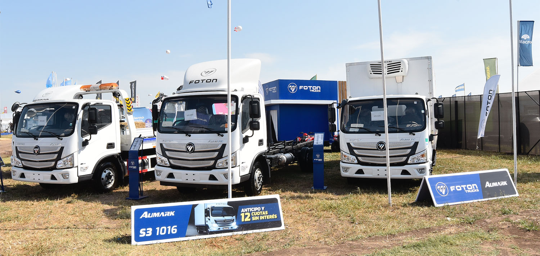 camiones foton