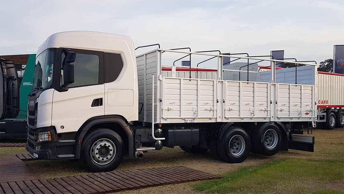camion cerealero