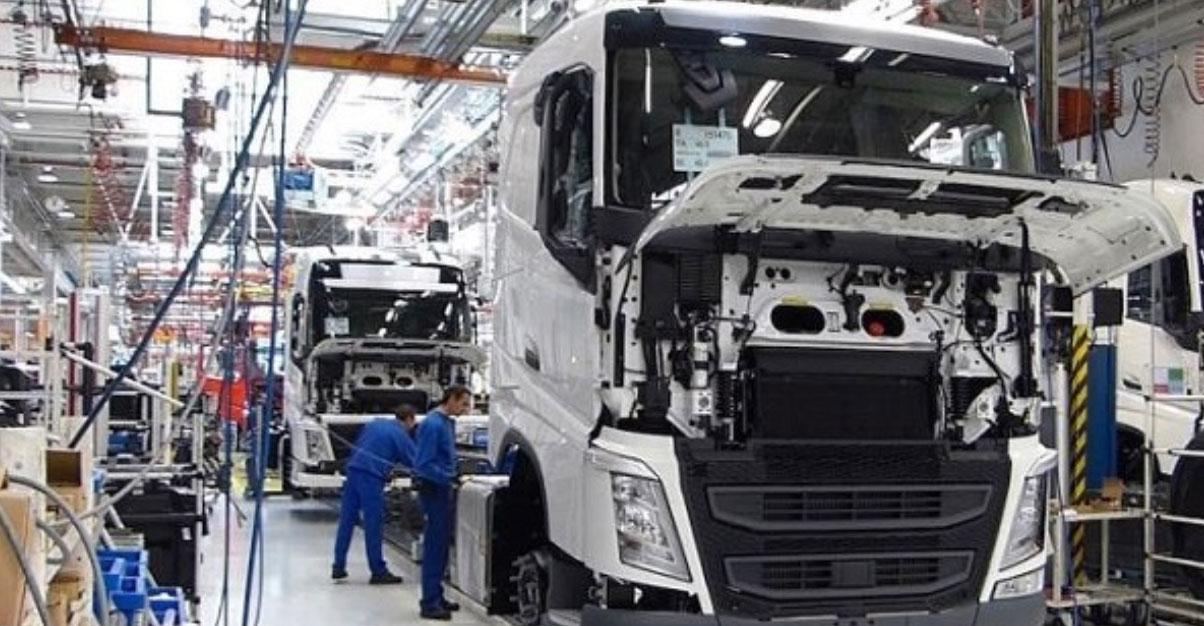 volvo trucks fabrica