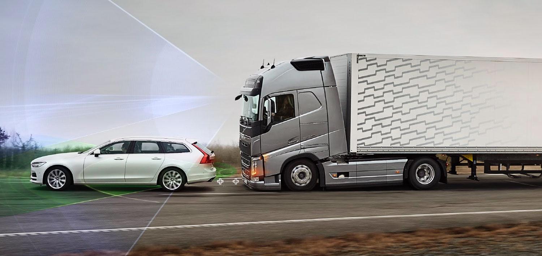 seguridad camiones volcvo