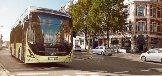 buses volvo trucks