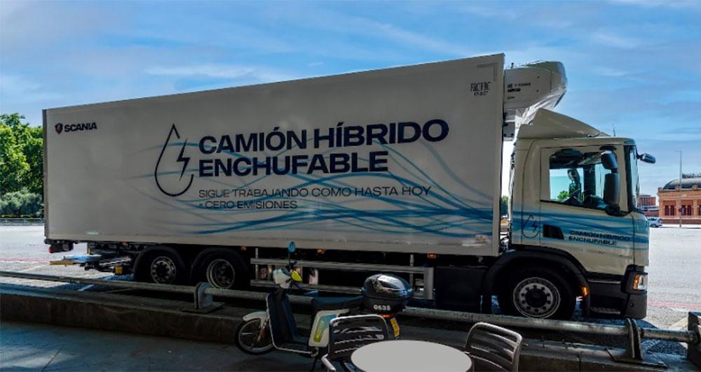 camion hibrido