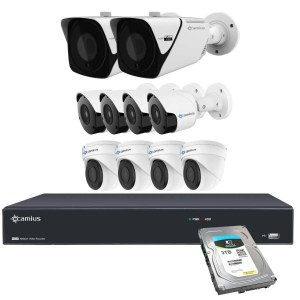 Camius wired security cameras 16PP2B4I2BM3T