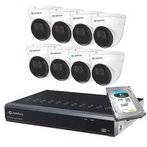 IP dome camera 8p8i5r3t Camius