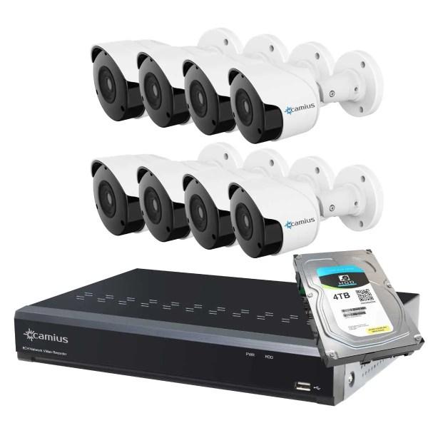 Camius 8 camera security system 8P8B4T