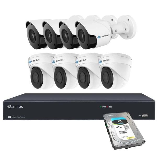 Camius 4k ip camera system 16PP48B48D4T