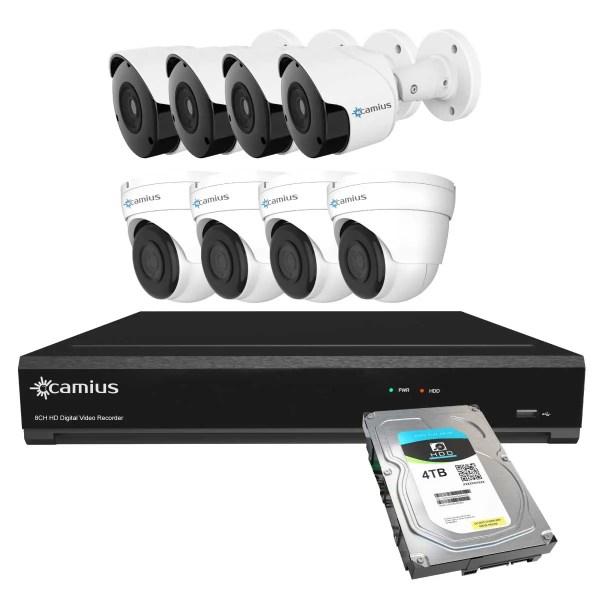 Camius security camera dvr system