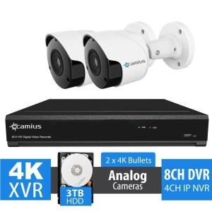 camius 4K-Security-System-8-Channel-DVR-2-8MP-Outdoor-Cameras-3TB