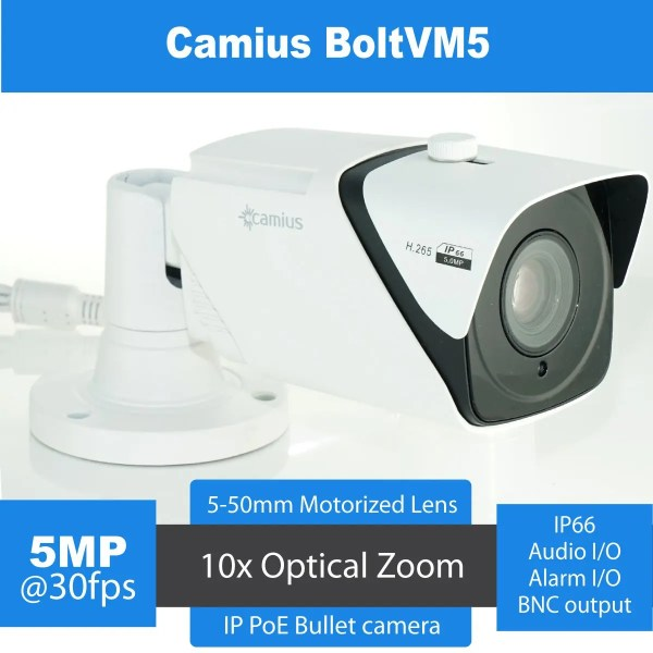 varifocal camera camius boltvm5