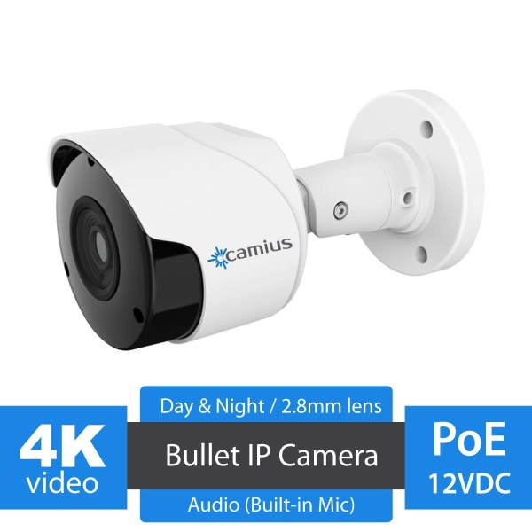 Camius 4K PoE security camera