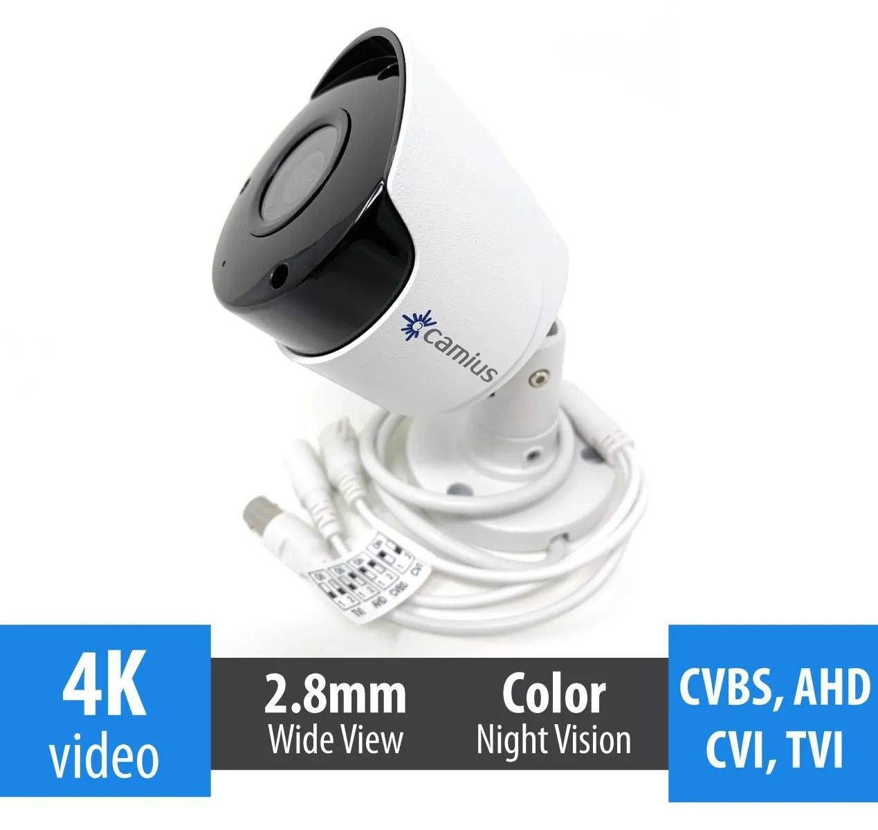 8mp-analog bullet camera camius FB4KATC