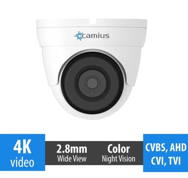 4K dome surveillance camera