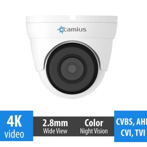 4K dome surveillance camera