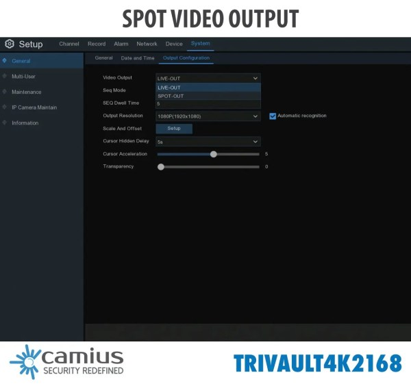 TRivault4K2168-16-channel-4K-DVR-spot-video-output