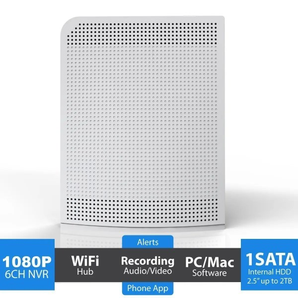 camius wireless nvr 6 channel