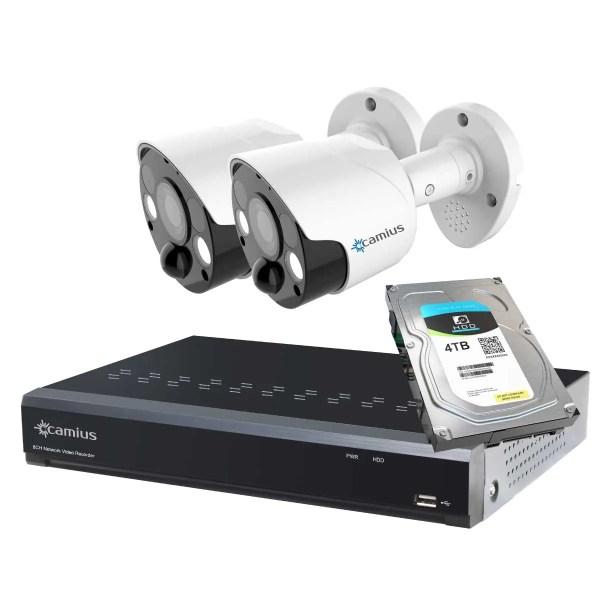 Camius spotlight surveillance camera 8P2S84T security camera system