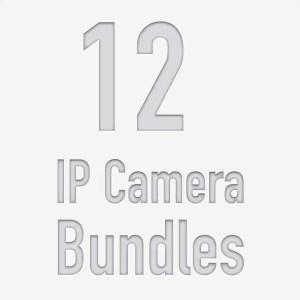 12 Camera PoE NVR Kits