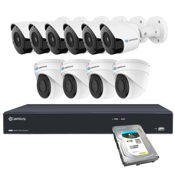 Camius 10 camera security system 16PP6B4I4T