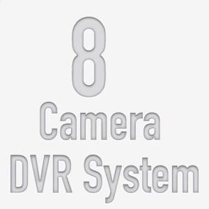 8 Camera DVR System