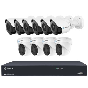 16 channel ip nvr camera system