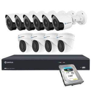 10 camera system camius 16ch nvr 3tb