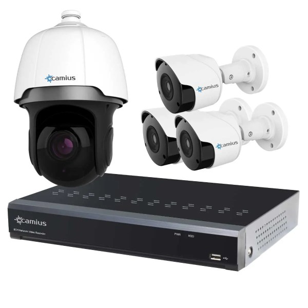 ptz speed dome camera poe 8ch nvr system