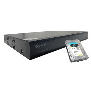 Camius 16 channel dvr with hard drive