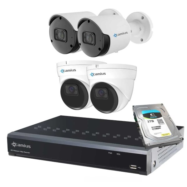 Camius nvr security system 8P2B2I5R3T