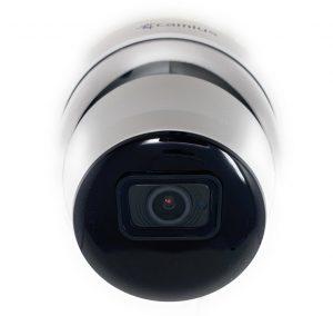 IRIS5R Camius 5MP dome security camera front 1 e1630473380825