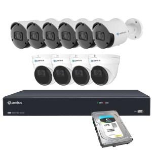 Camius 10 PoE cameras system 4tb hdd 16PN6B4IR4T
