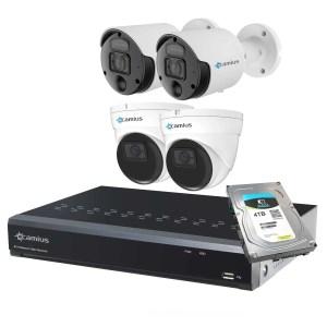 Camius spotlight 4k poe camera system 8P2S8R2I5R4T