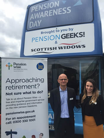 Pension Wise bus