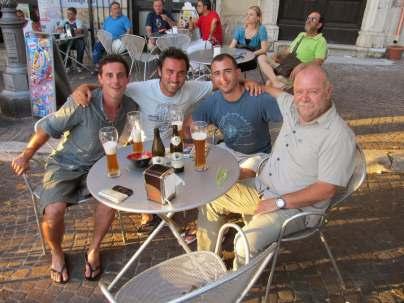 Con Ruben, Federico e Rosario: un marchigiano, un ciociaro e un siciliano insieme sul Cammino