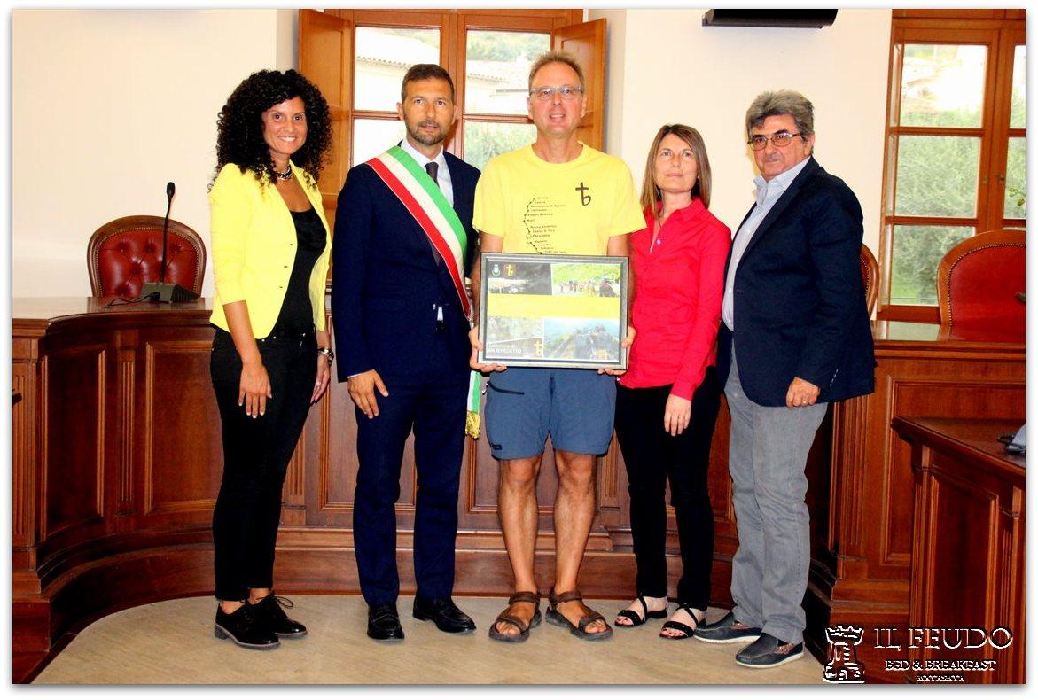 Riconoscimenti conferiti a Simone Frignani a Roccasecca