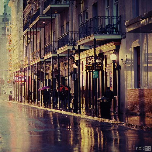 Rainy Day, New Orleans, Louisiana