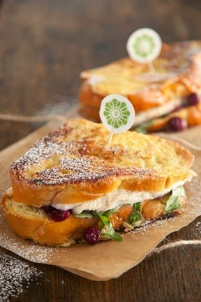Turkey Cranberry Monte Cristo….Perfect For The Day After Thanksgiving.