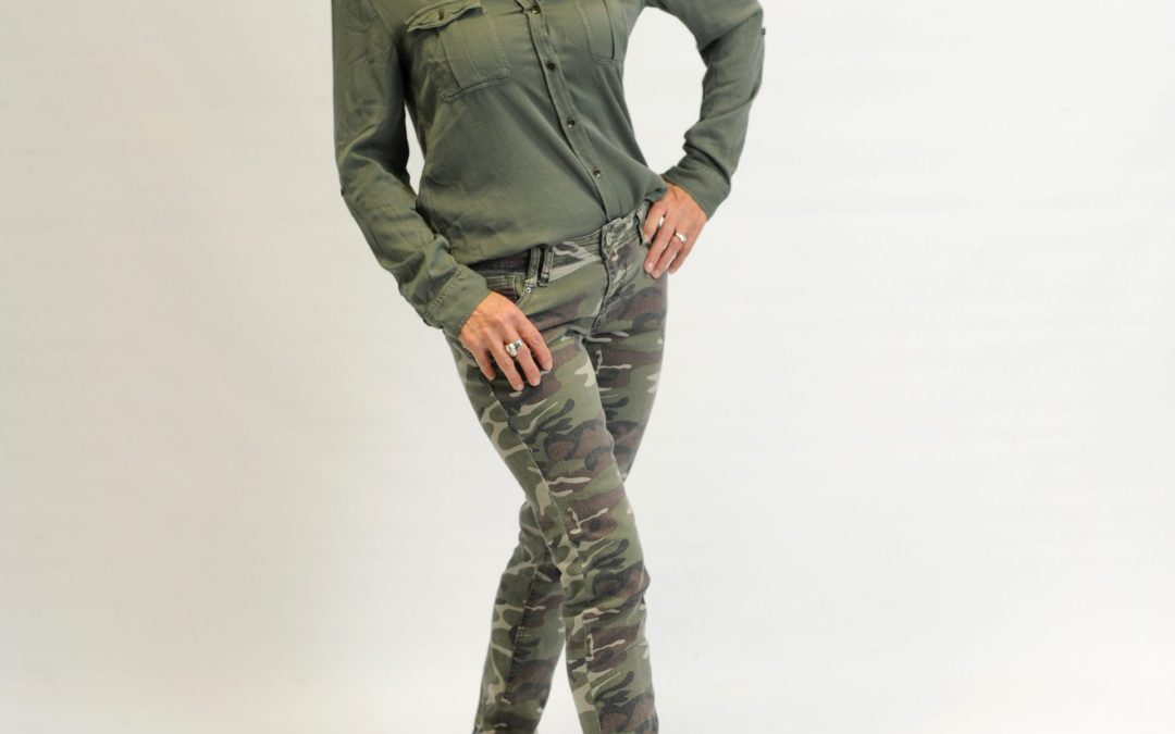 Fired Up on Camo Fashion!