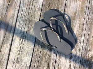 camo flip flops fashion