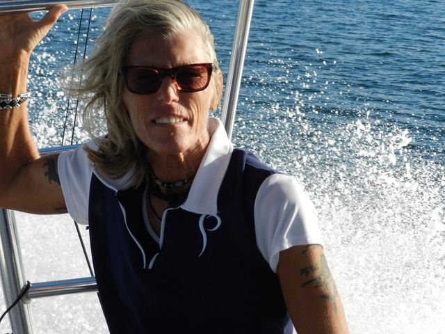 Judge Julie Mogenis, Prois Staffer at sea