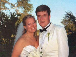 Beautiful bride nd groom