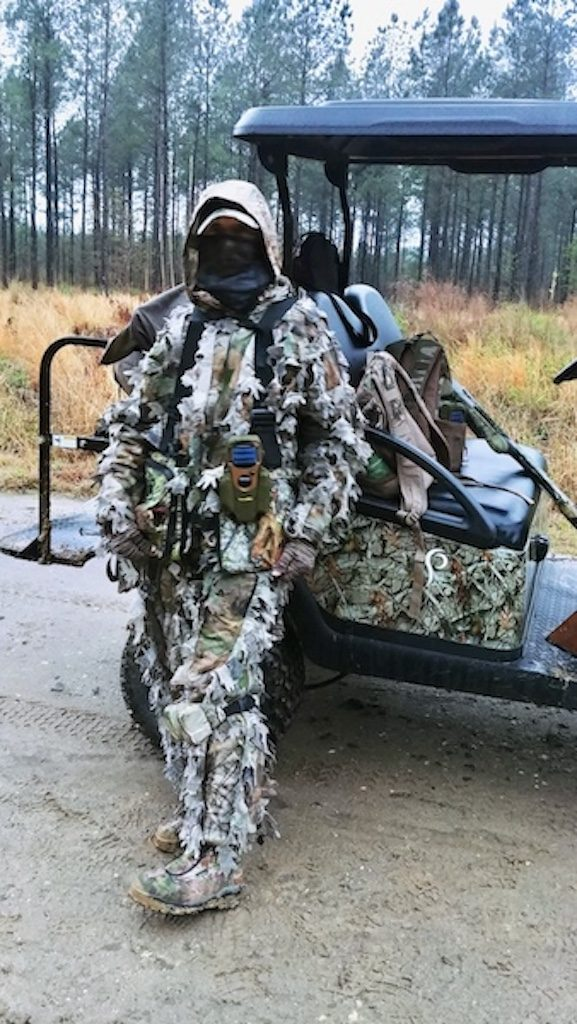 what do you wear when you go turkey hunting?