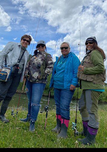 Wyoming Cutt Slam fishing challenge