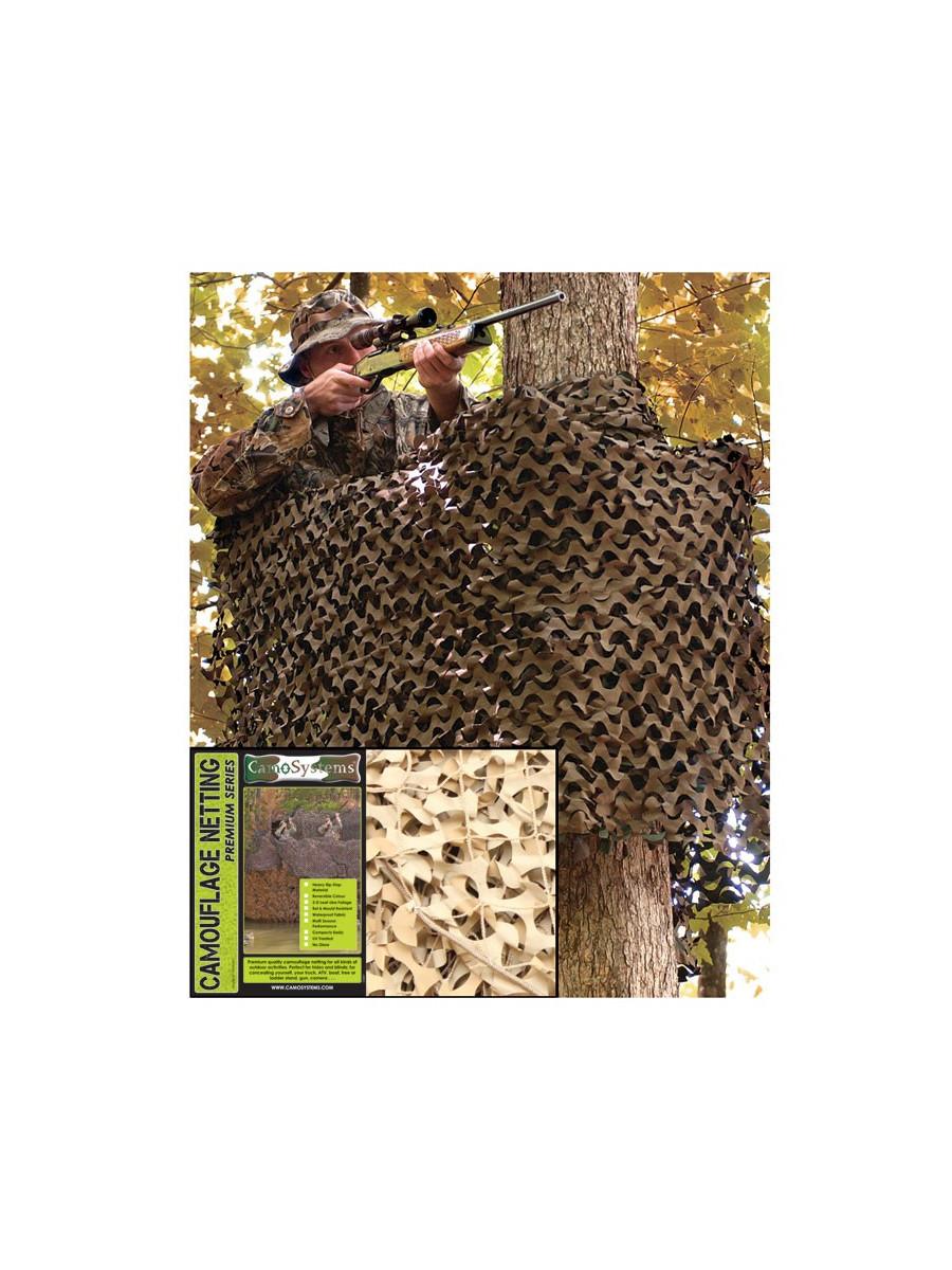 filet camouflage desert 6 x 3m