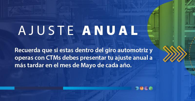 Anteriores: Ajuste Anual Industria Autopartes 2020