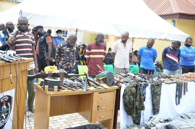 Police Arrest 47 Over Kidnapping, Arms Dealing