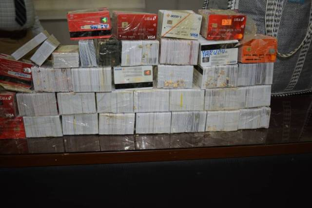 Customs Hands Over Suspect Arrested With 5,342 ATM Cards to EFCC in Kano