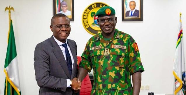 Lekki Shooting: Sanwo-Olu invited us to intervene in #EndSARS crisis – Army Insist