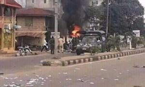 Pandemonium as man die in police custody, several persons injured in Abuja