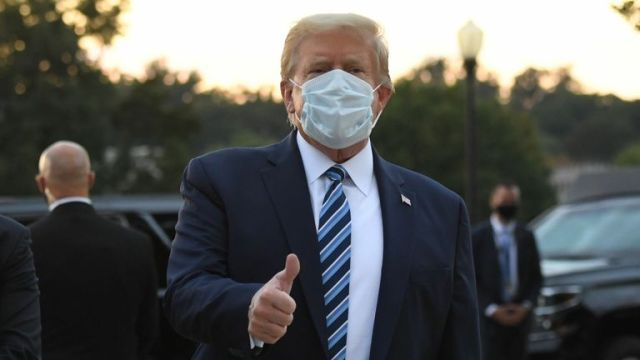 Breaking: President Trump Returns To White House From Hospital
